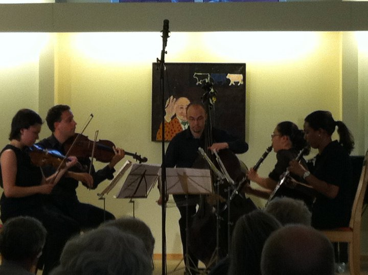 Performing Prokofiev Quintet at Thy Chamber Festival in Denmark