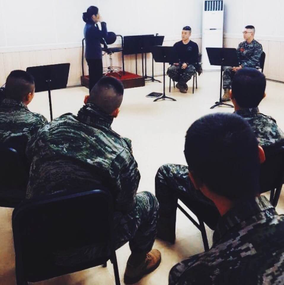 Master Class with Marine Band in Jeju Island, South Korea