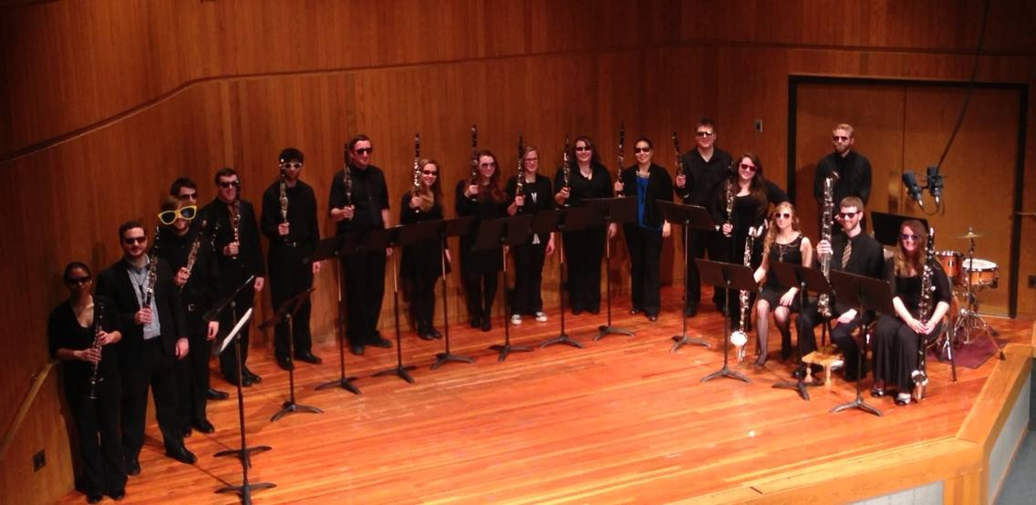 Clarinet-Choir-NDSU-Clarinet-Extravaganza