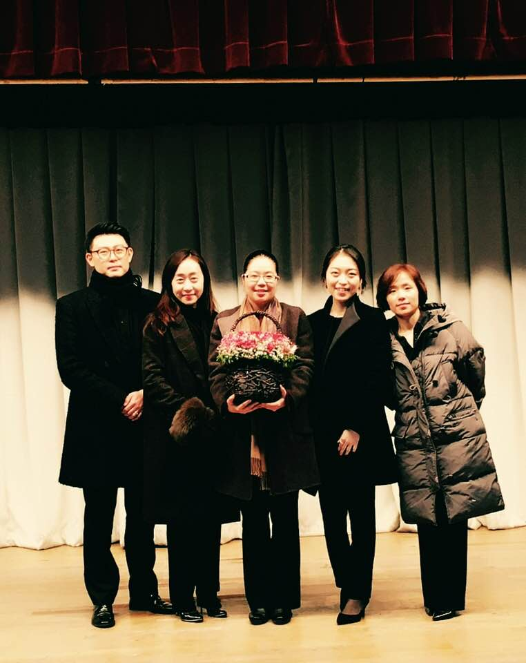 Concert with Jublier Clarinet Quartet in Busan, South Korea