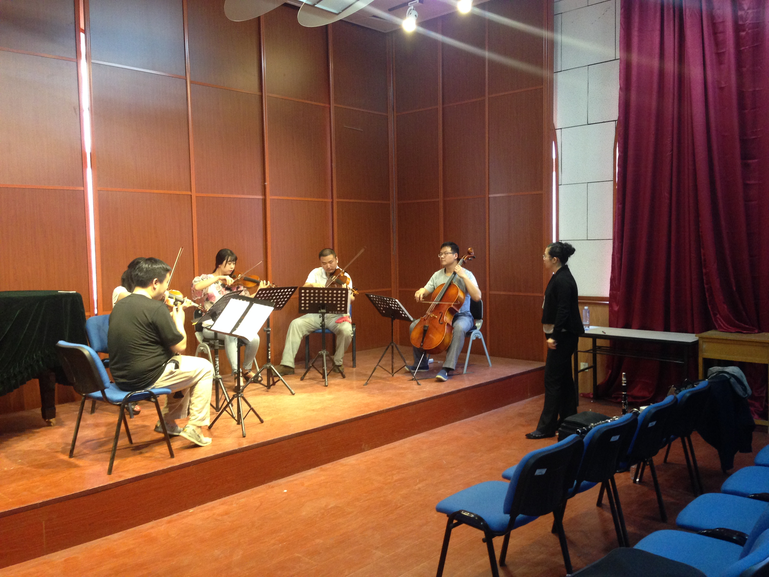 Master Class at Shen Yang Conservatory (China)